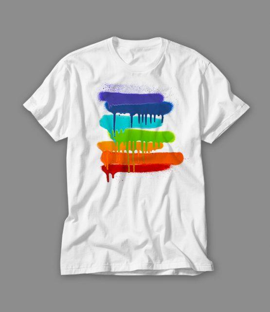 Graffiti-Pacestreifen_T-Shirt weiss