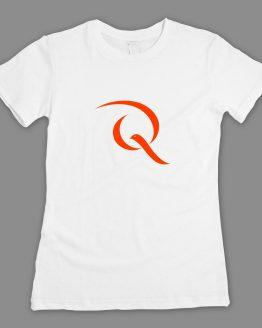 Friedenstaube Quiddity T-Shirt weiss fitted