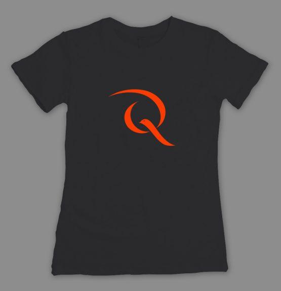 Friedenstaube Quiddity T-Shirt schwarz_fitted