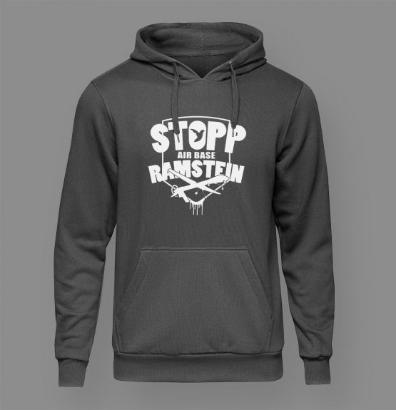 Stopp Air Base Ramstein Hoodie schwarz